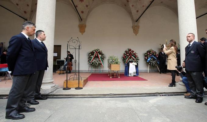 umberto eco funerali