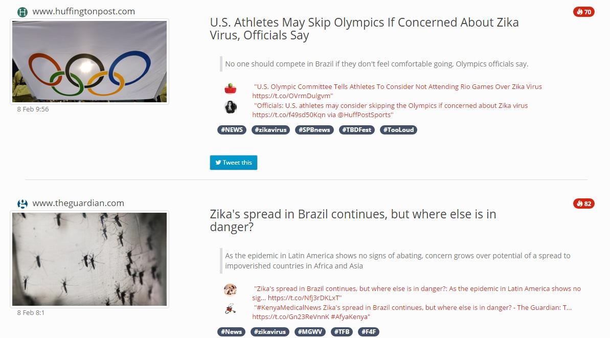 Zika Vrus, il sito con tutte le notizie