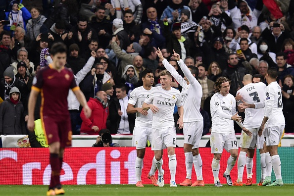 REAL MADRID-ROMA 2-0 VIDEO GOL HIGHLIGHTS