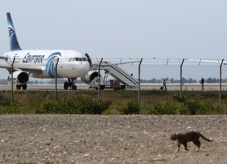 aereo egitto dirottato