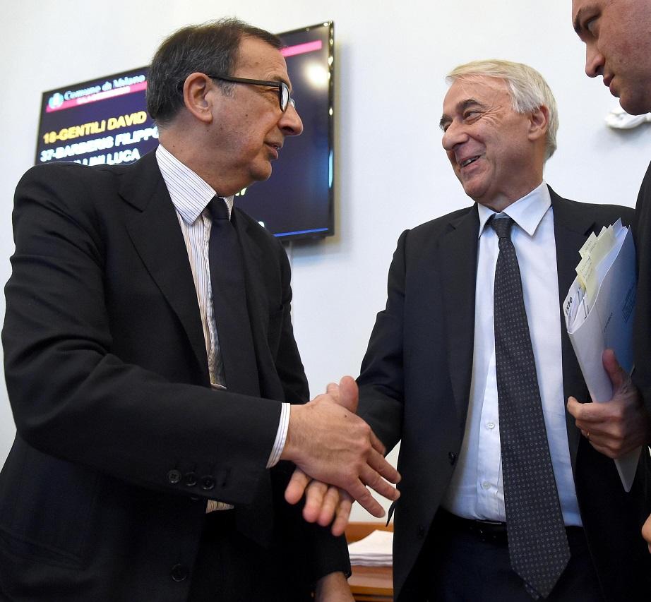 Amministrative milano 2016 beppe sala e giuliano pisapia for Milano 2016