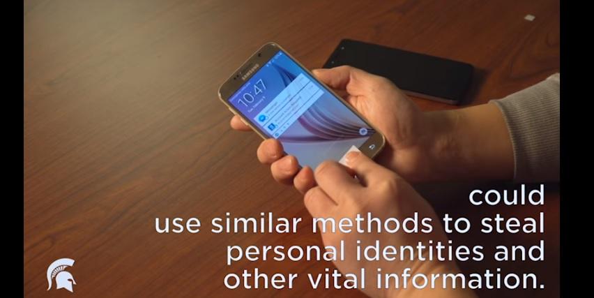 Smartphone impronte digitali