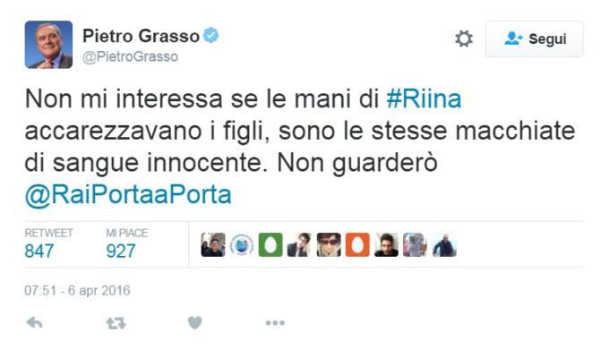 Intervista figlio Riina