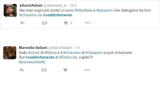 Alessandro Di Battista Soddisfamento