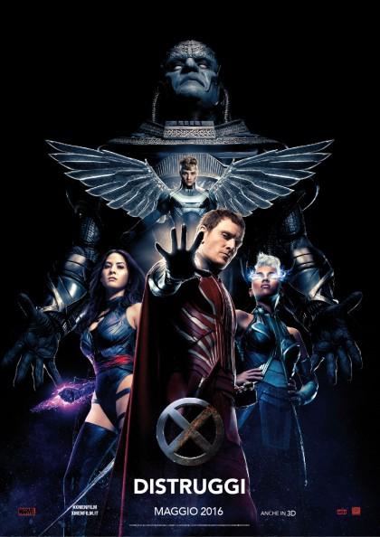 X-Men Apocalisse: trailer ufficiale