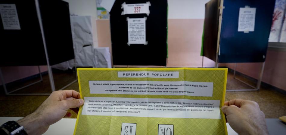 affluenza quorum referendum trivelle 17 aprile