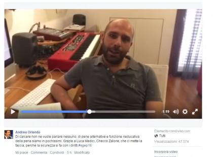 checco zalone carcere ministro orlando video