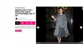 """Angelina Jolie pesa 35 chili"""