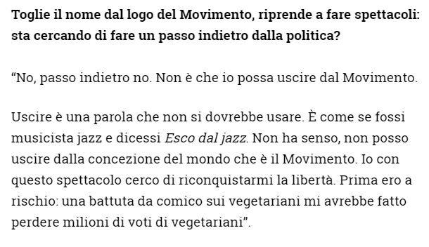 beppe grillo battute vegetariani wired