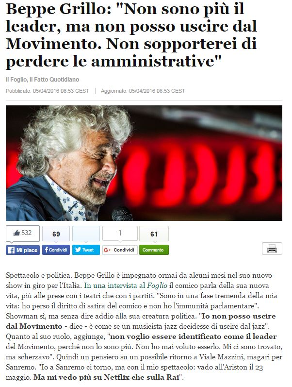 beppe grillo netflix
