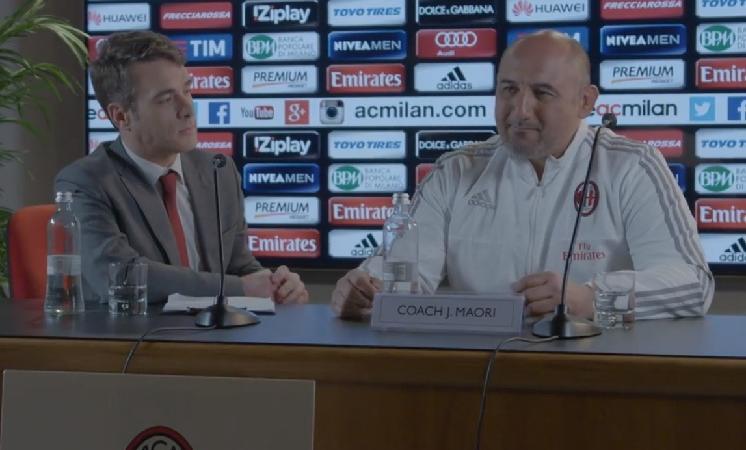 La bufala dell'allenatore maori al Milan
