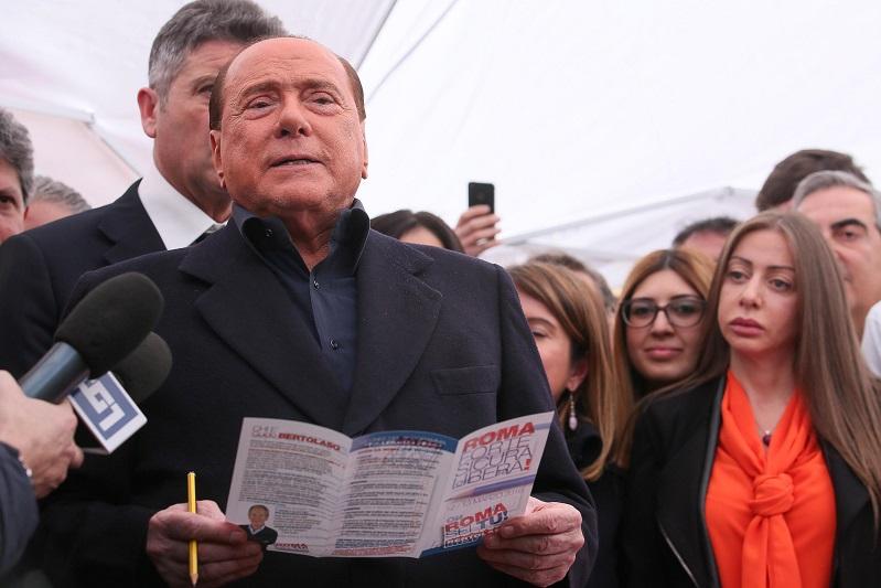 Elezioni Amministrative Roma, Berlusconi: «Solo Marchini in grado di vincere»