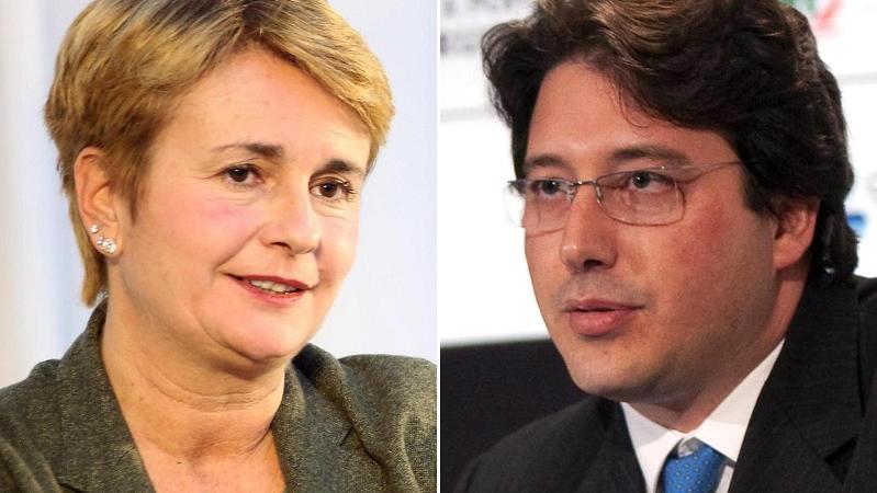 Federica Guidi e Gianluca Gemelli
