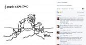 La vignetta di Vauro sulla morte di Gianroberto Casaleggio