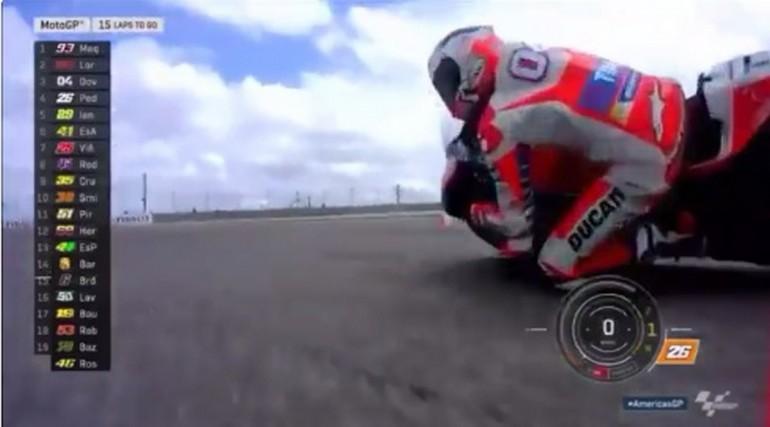 MotoGp, Pedrosa come Iannone: Dovizioso ko.