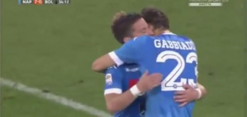Napoli-Bologna 6-0 video gol highlights