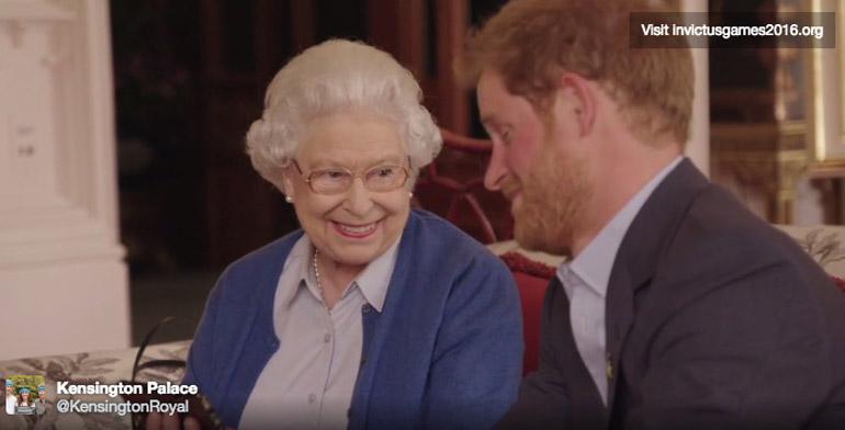 regina-elisabetta-principe-harry-obama-invictus-games-video
