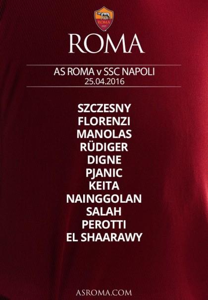 roma napoli diretta