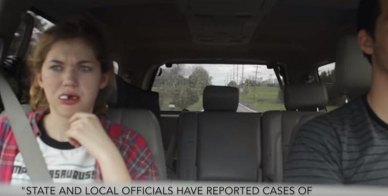 scherzo zombie anestesia dente del giudizio video