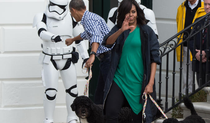 Star Wars Day Obama ballo
