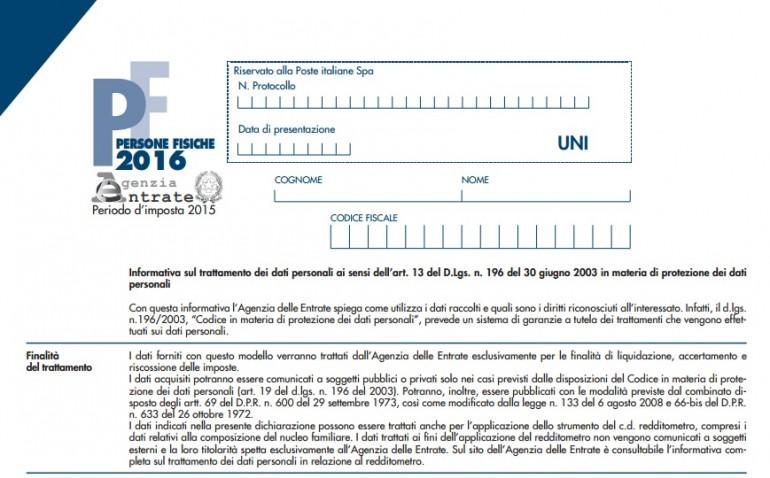 Dichiarazione dei redditi 2016 scadenza come si fa for Dichiarazione 770