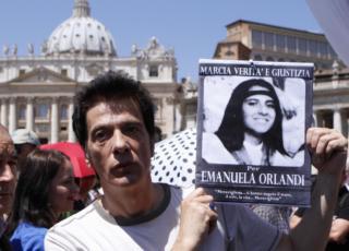 Emanuela Orlandi documento