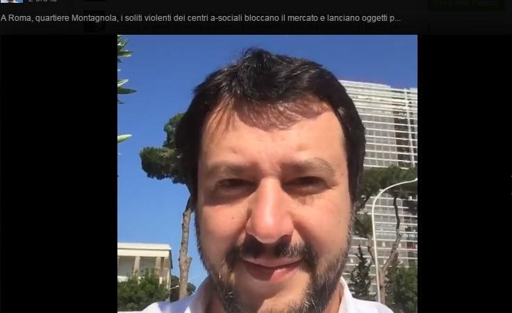 Matteo Salvini contestato