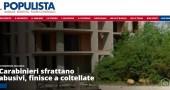 """Matteo Salvini lancia il blog. L'ira dei giornalisti de La Padania: «Stiamo a """"Il Populista"""" come i taxi a Uber»"""