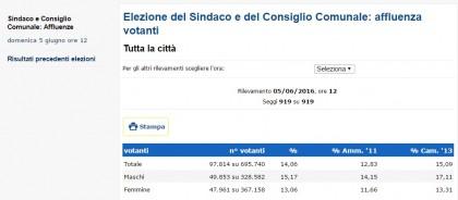 Risultati elezioni Comunali Torino 2016