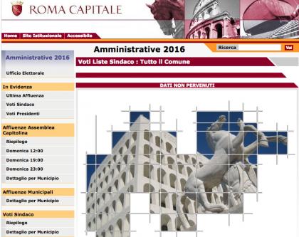 elezioni comunali roma 2016