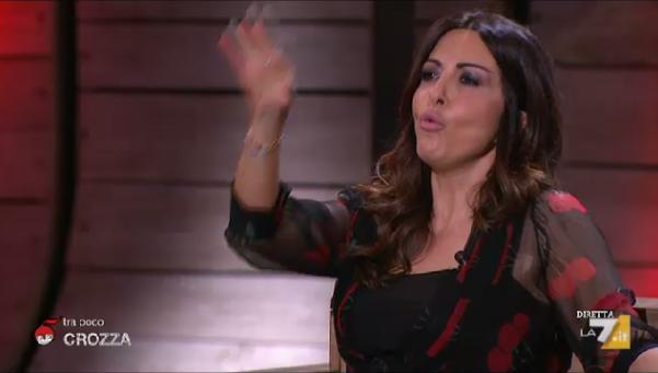 Sabrina Ferilli contro Renzi da Floris