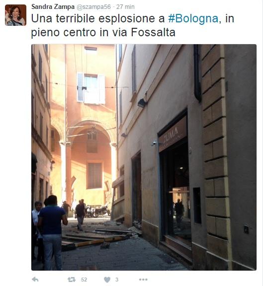 Bologna, esplosione in un ristorante cinese: 4 feriti