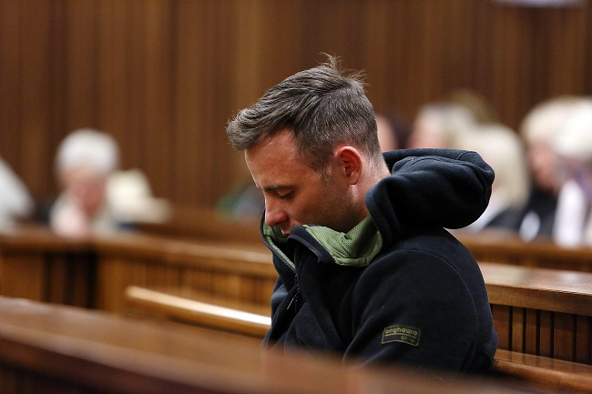 Oscar Pistorius rissa