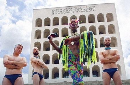 Fendi comtro il Roma Pride