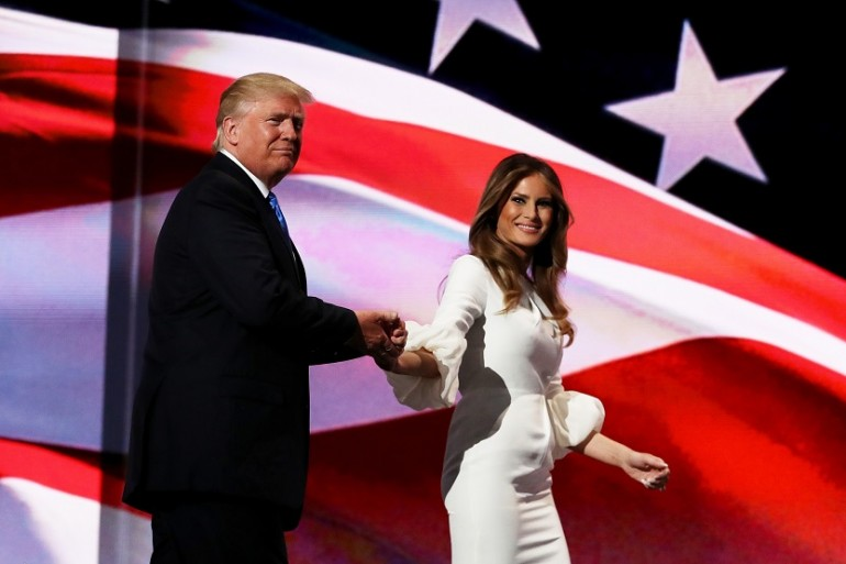 Melania Trump Michelle Obama Convention