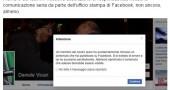 Vicari censurato Diaz Facebook scuse