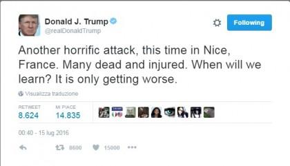 Attacco Nizza camion terrorismo