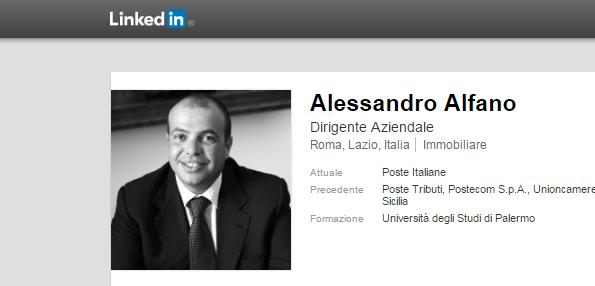 Alessandro Alfano Poste