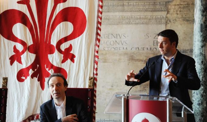 Referendum costituzionale Benigni Buffon Jovanotti per il sì