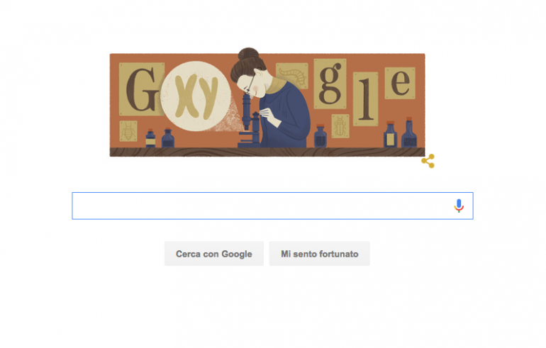 Google celebra Nettie Stevens, scoprì i cromosomi sessuali X e Y