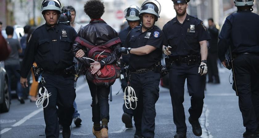 polizia Usa neri