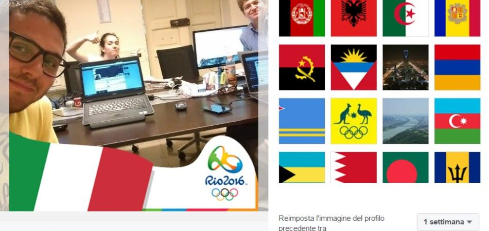 Applicazione Facebook Rio 2016