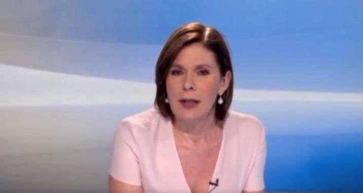 Bianca Berlinguer Tg3 editoriale addio