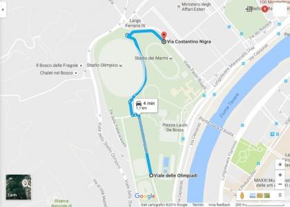 Dove parcheggiare Stadio Olimpico