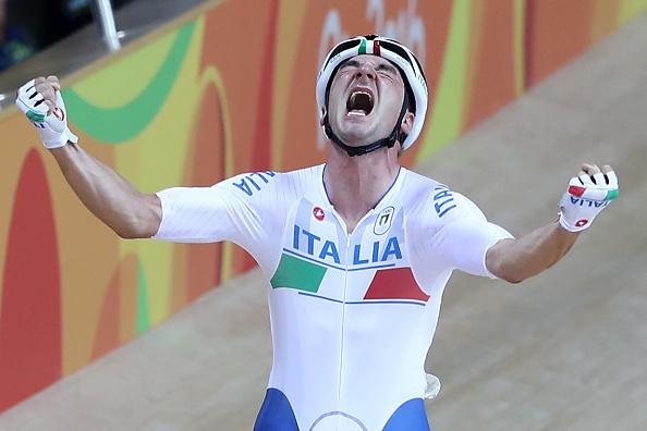 Elia Viviani Oro Rio 2016
