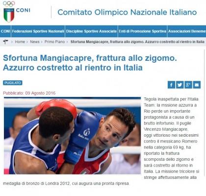 Vincenzo Mangiacapre ritirato