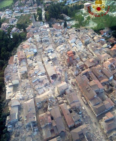 Terremoto: Nuove Scosse Sentite pure nelle Marche, Crolli ad Amatrice