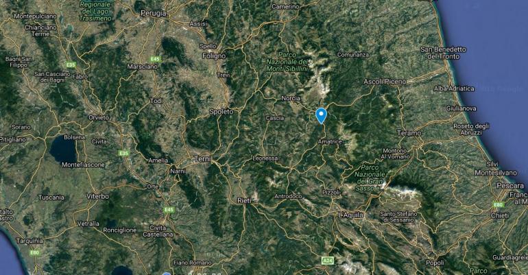 Terremoto oggi ingv possibili altre scosse lista scossa for Ingv lista terremoti di oggi
