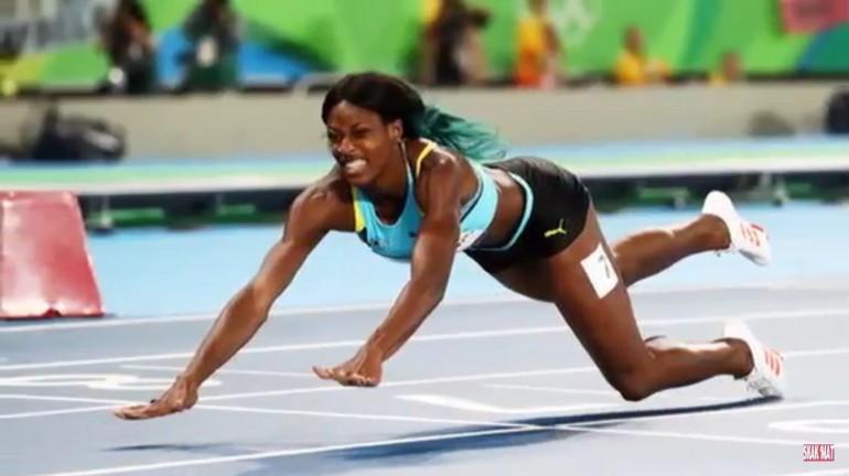 L'incredibile tuffo di Shaunae Miller per vincere l'oro nei 400 metri piani
