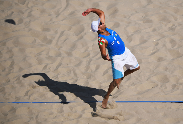 Rio olimpiadi beach volley skyball